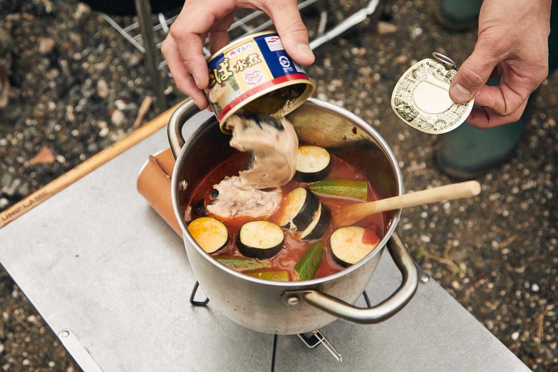 サバ缶カレー