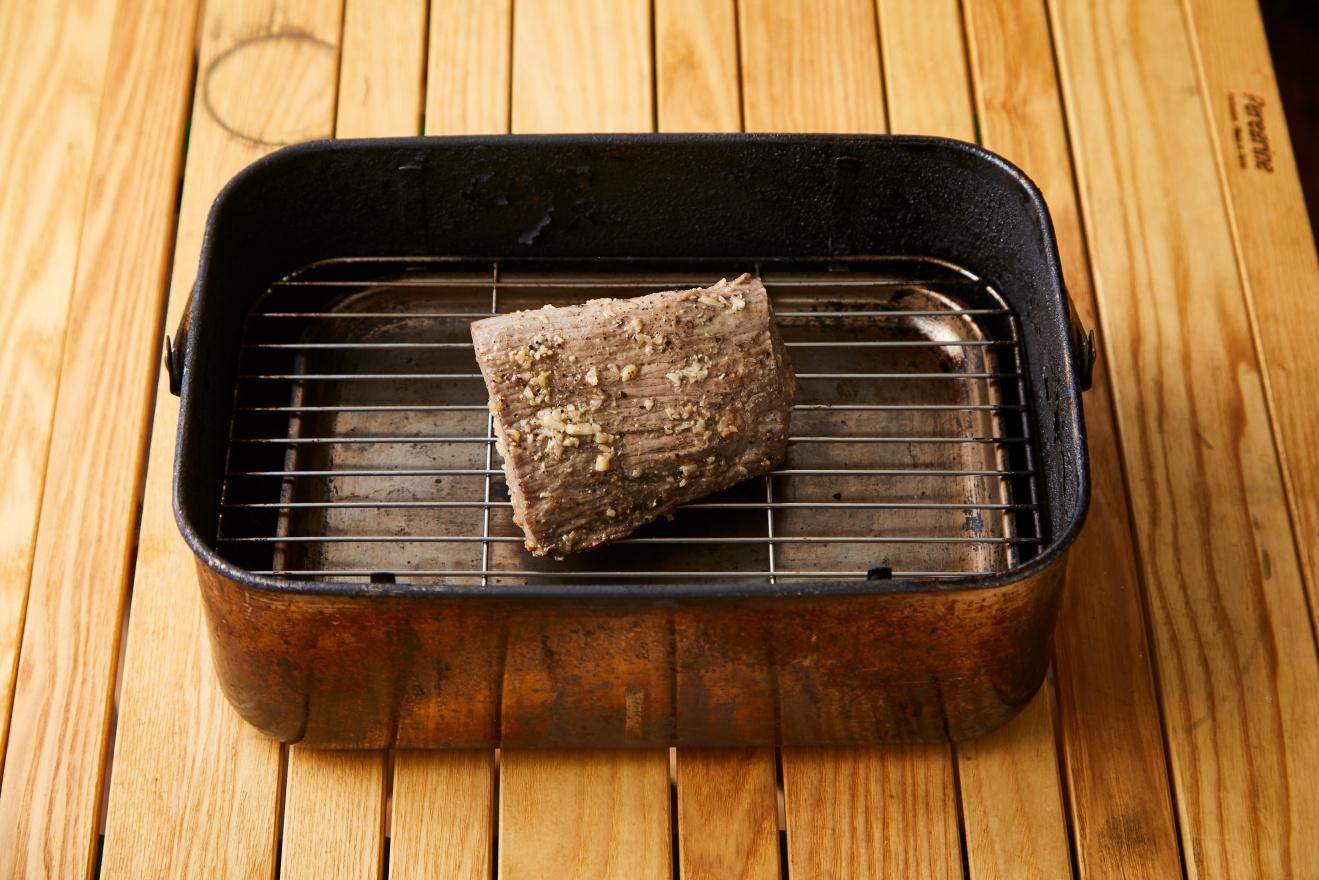 燻製ローストビーフサンド